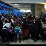 Women registering in Tehran for the parliamentary election - December 2015 (photo by Islamic Republic News Agency)